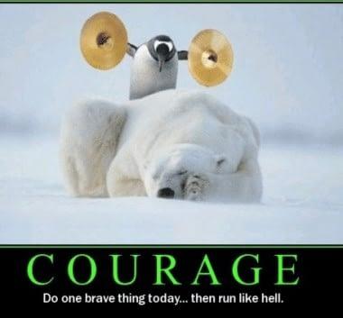 What does brave leadership look like